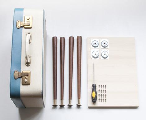 diy suitcase table 1