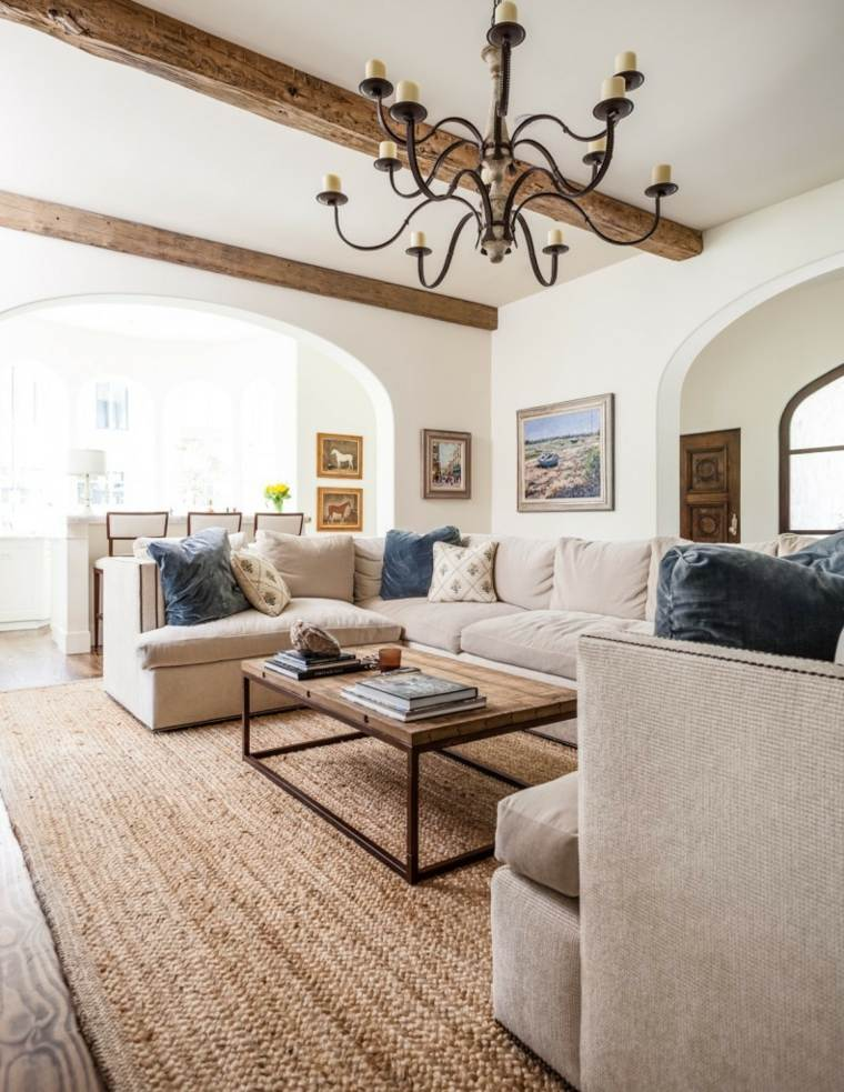 21 Wood Beam Ceiling Ideas Wood Beams In Living Room