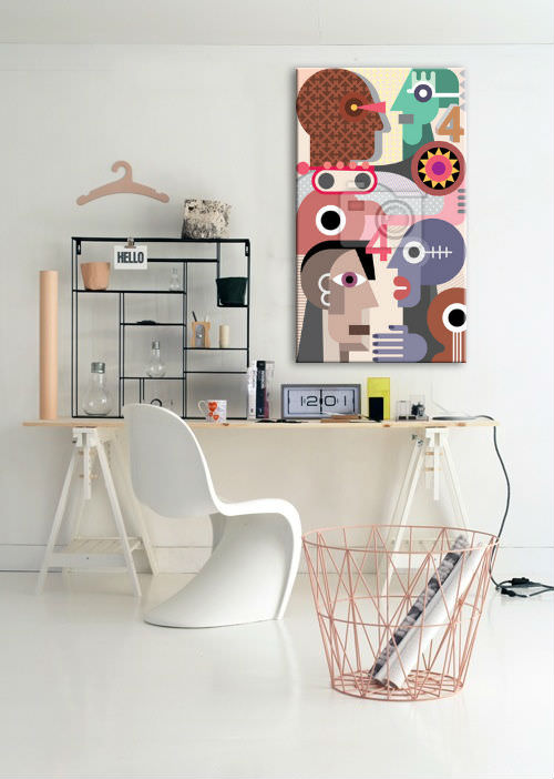 how to decorate home office 20