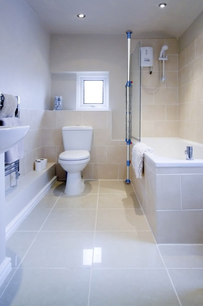 Delightful Small Bathroom Flooring Part 23