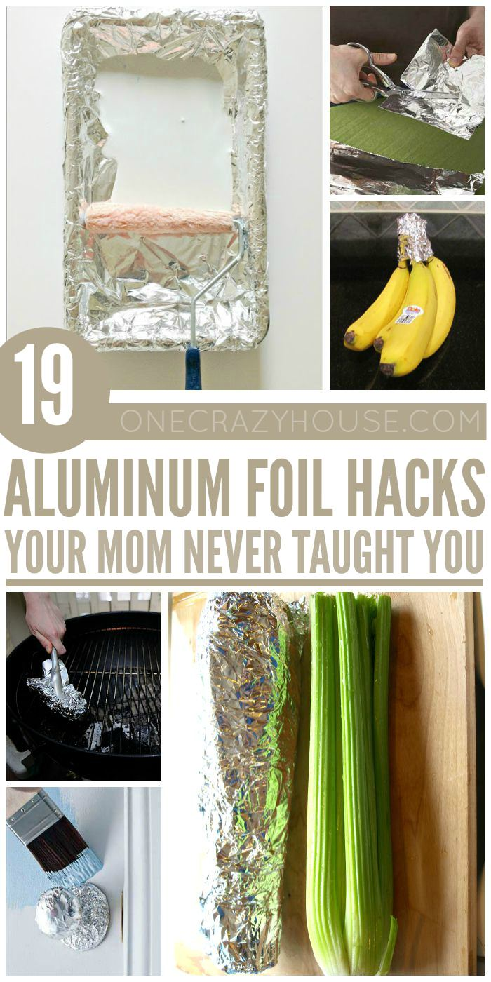 Aluminium foil is a common household item and it can be very useful. Just check out these 19 amazing Aluminium Foil uses and hacks you will love them