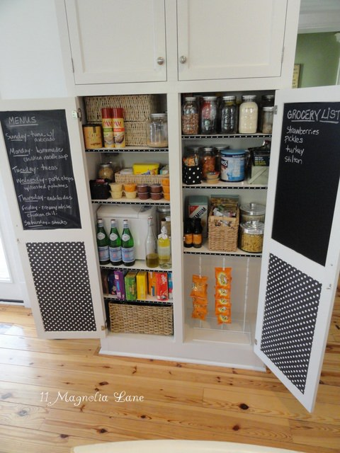 Check out these helpful tips and neat ideas to organize and makeover your small pantry.