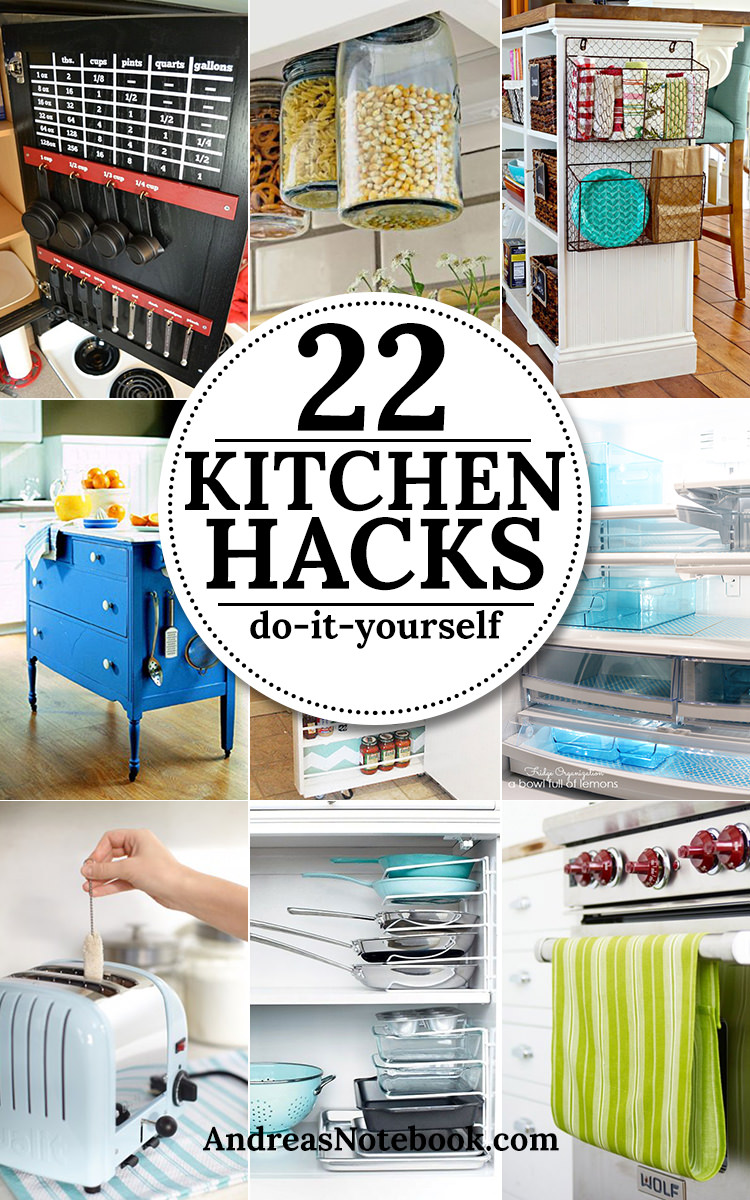 22 kitchen hacks and tips kitchen organization hacks veryhom without a doubt these 22 kitchen hacks and tips are clever easy and most functional take a look solutioingenieria Gallery