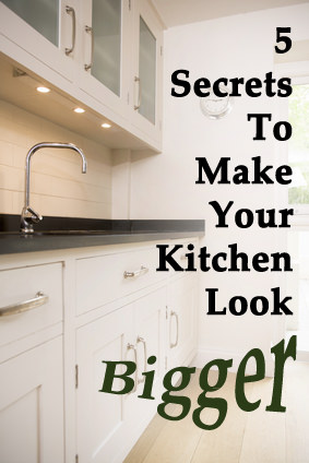 5 secrets to make small kitchen looks bigger veryhom