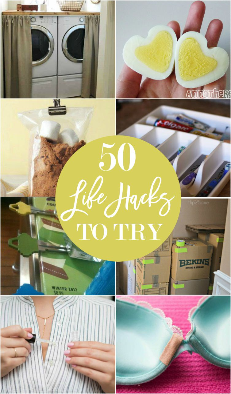 These 50 worth knowing handy life hacks will change your life and make it much easier. Check Out!