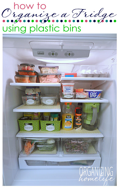 7 Steps To An Organized Fridge Cleaning Refrigerator