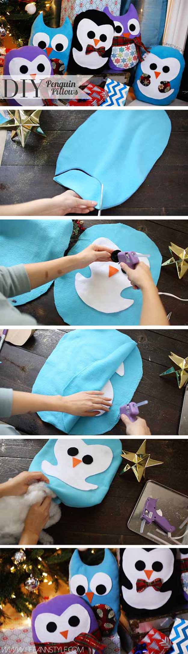 17-Adorable-DIY-Pillow-Ideas-DIY-Penguin-Pillows