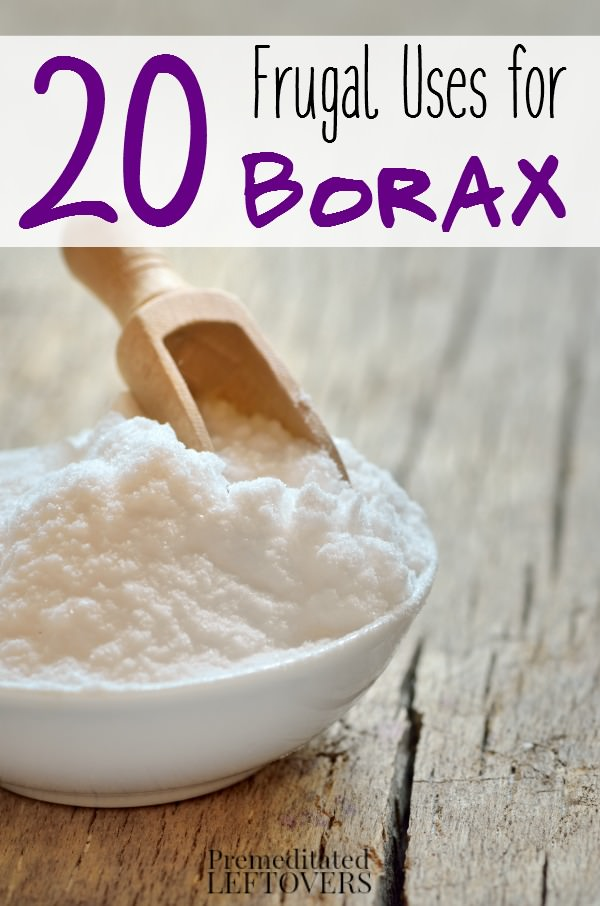 Borax is not just a laundry booster there are many surprising household uses for Borax around the house. Must check out!