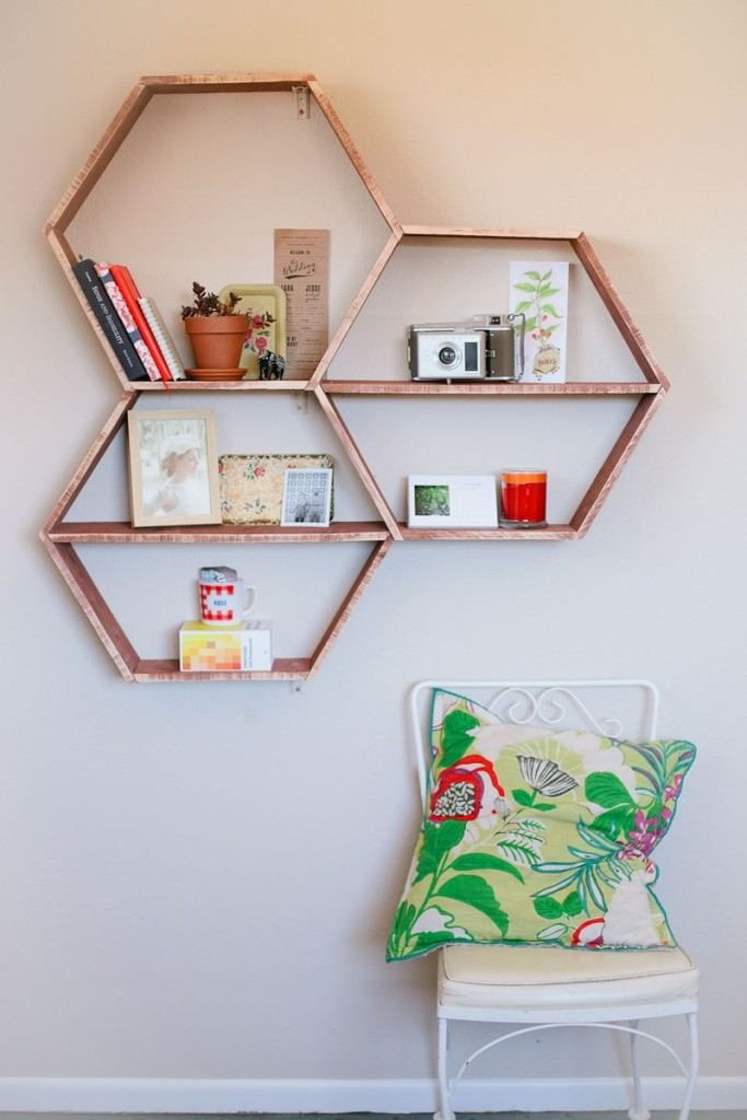 These 18 DIY shelving ideas will not only create more space in your but looks great too. Check out!
