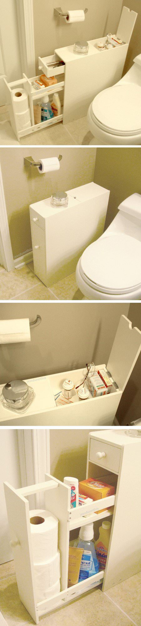 Top 25 the best diy small bathroom storage ideas that will for Bathroom things