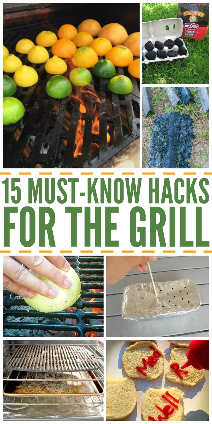 Before firing up the grill, just check out these helpful hacks and tricks that will make preparing food on the grill easy and more enjoying.