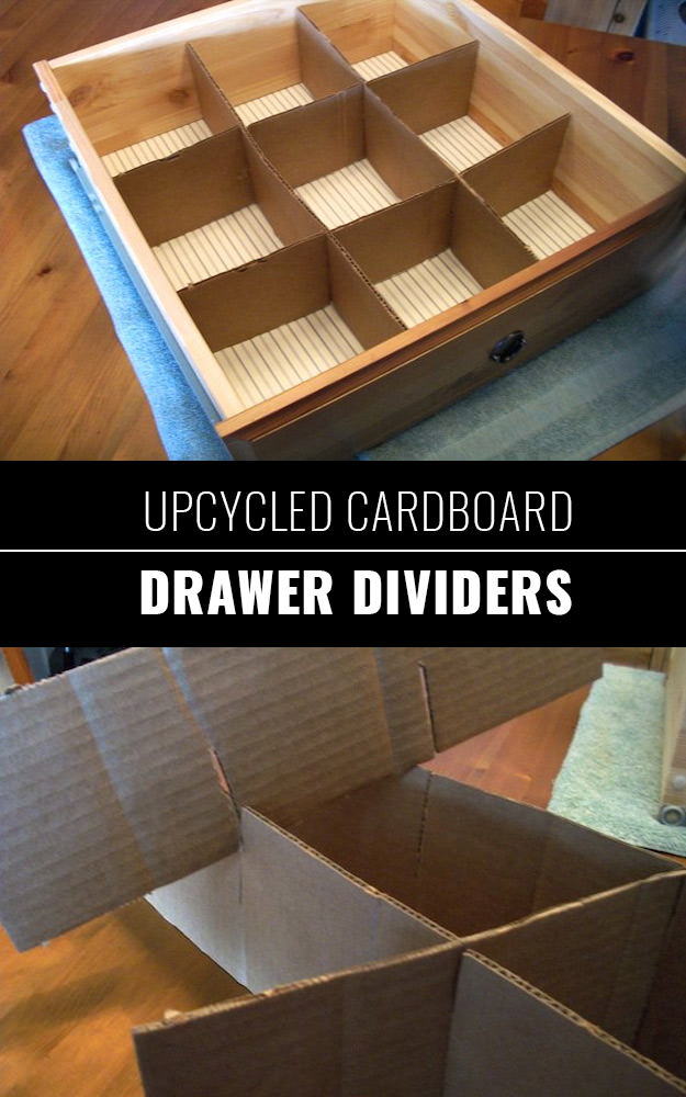 Upcycled-Cardboard-Drawer-Dividers