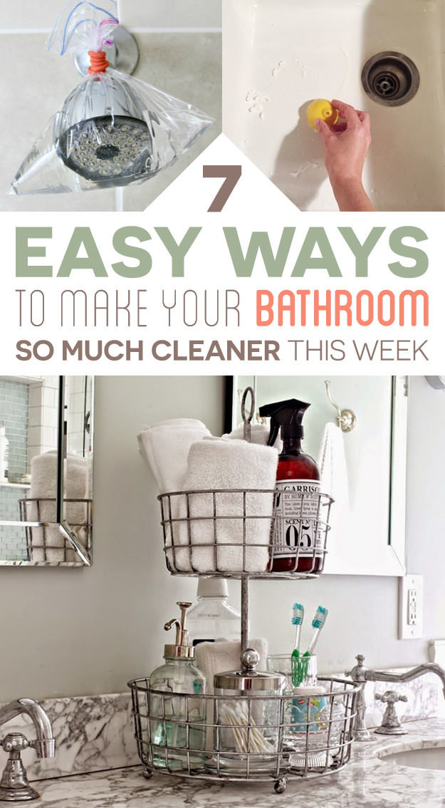 Bathroom cleaning is difficult but essential, however, with a few bathroom cleaning tips and tricks you can easily save up your time and make it easier.