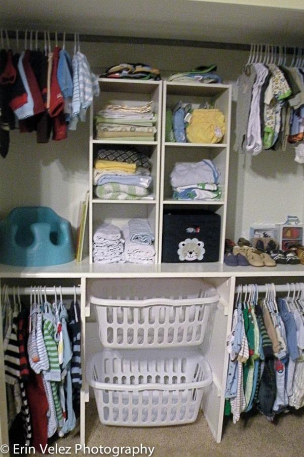 clever hacks closet organization