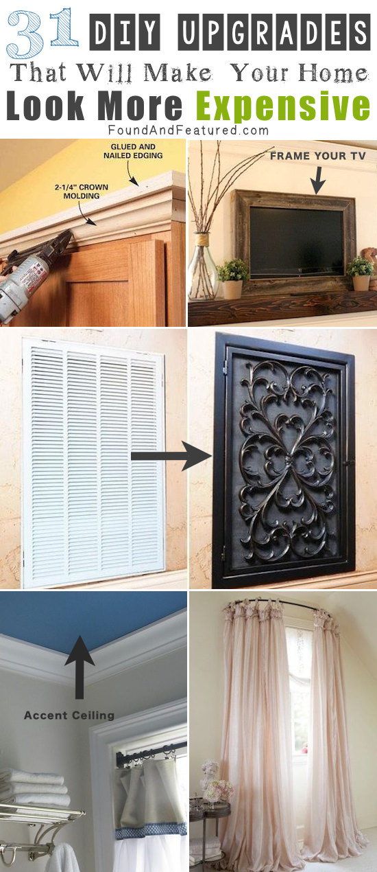 Cheap easy diy upgrades that can make your home look for Cheap and easy home improvements