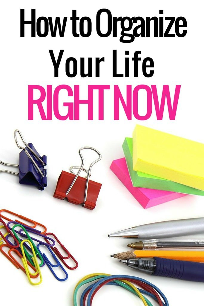 Want to organize your life better to make things easier. There are a few things you should do for this. Check them out!