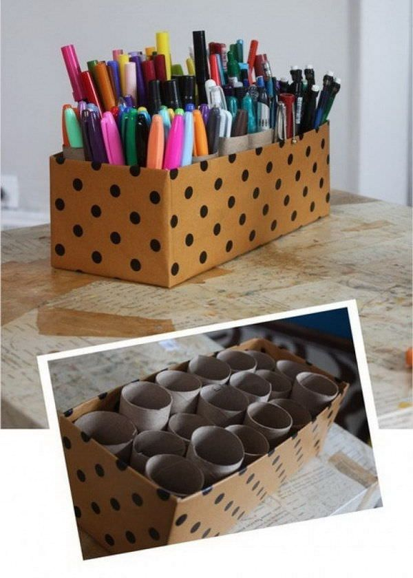 13-Ridiculously-Smart-Office-Organizing-Hacks 3