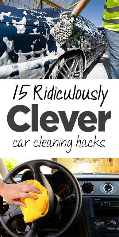 How can you clean up your car from cracks, vents, and dirt that gradually take away its beauty? Here are some CLEVER car cleaning hacks that can help you a lot!