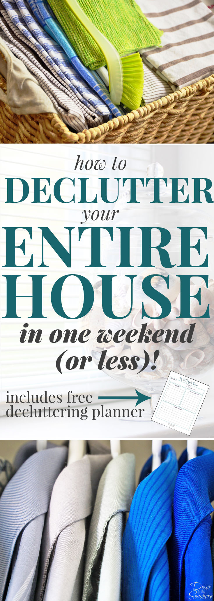 Declutter house checklist house plan 2017 for Declutter house plan