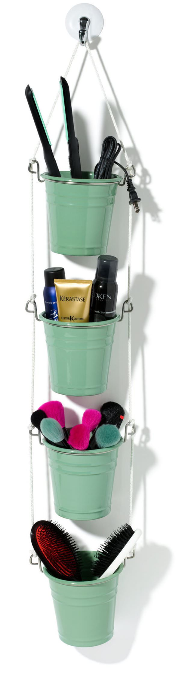 Not only organize but also beautify your bathroom in less than half an hour with these 15 Bathroom Organization Ideas. Check out!