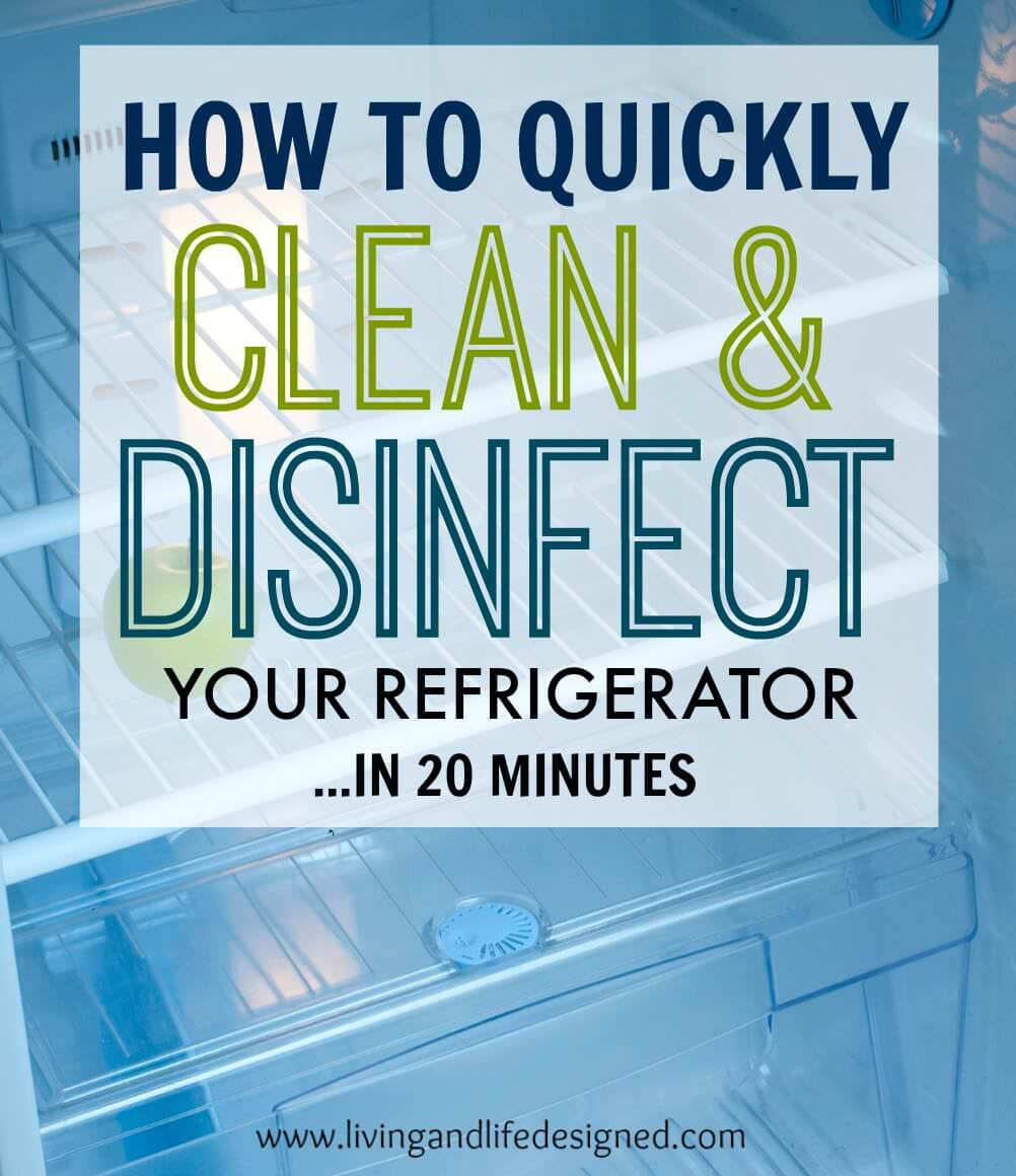 refrigerator cleaning guide to clean disinfect your refrigerator in 20 minutes veryhom. Black Bedroom Furniture Sets. Home Design Ideas