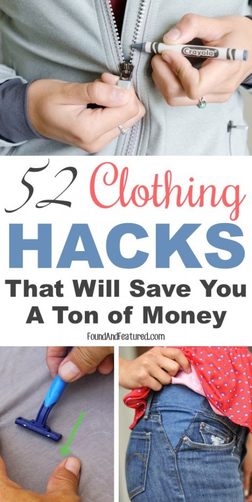 Read about some of the smartest clothing hacks that can not only save your time but will also save your money. Do check out!