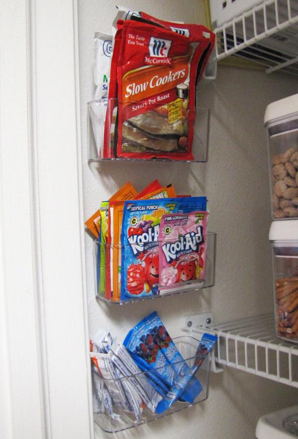 storing-packets-kitchen-organization
