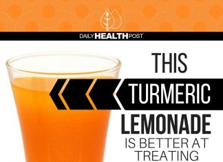 Turmeric is one of the most potent natural cure-all. Turmeric lemonade will give you a good daily dose of turmeric.