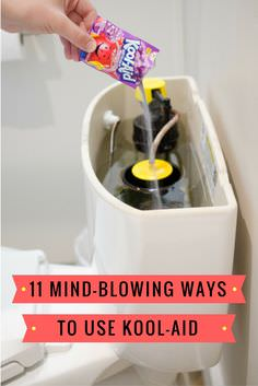 Kool-Aid might be your favorite drink but do you know there are many other creative ways to use Kool-Aid in your home? Check out!