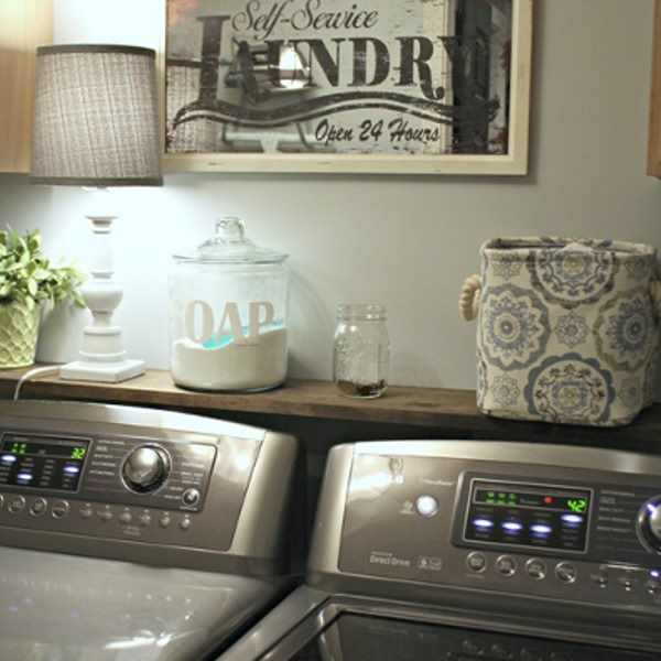 10 Ways To Make Your Laundry Room Look Amazing • VeryHom