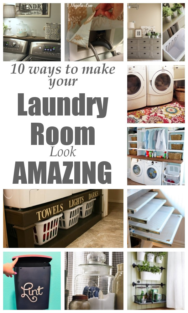 A laundry room is that part of our home that often remains neglected but it is also a part where we spend most of our time doing chores so it's important to make it beautiful. Here're the 10 ways to do this!