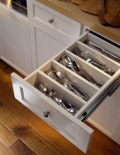 No matter what kind of kitchen you have, getting organized is important. It can save your time, space, and money and make your life simple.