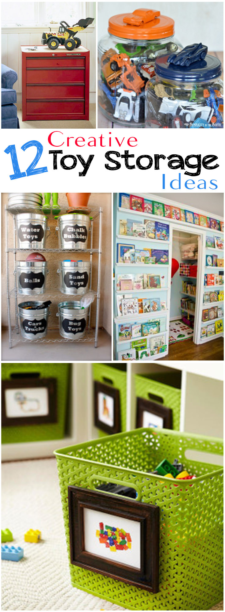 12 Creative Toy Storage Ideas Veryhom
