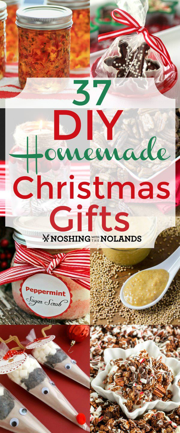 these 37 diy homemade christmas gifts are best they are fun to make and so fun to receive they are a thoughtful