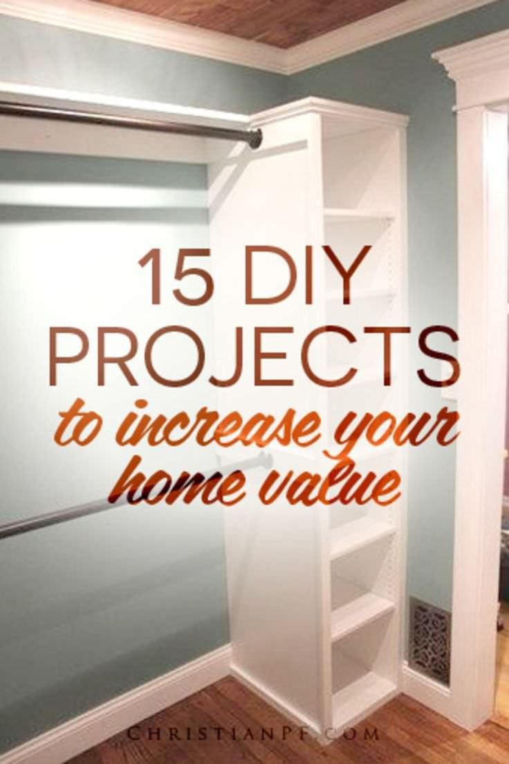 Your home is your asset, it's a great investment but have you ever considered to improve its value? Here're a few DIY projects to increase your Home Value!
