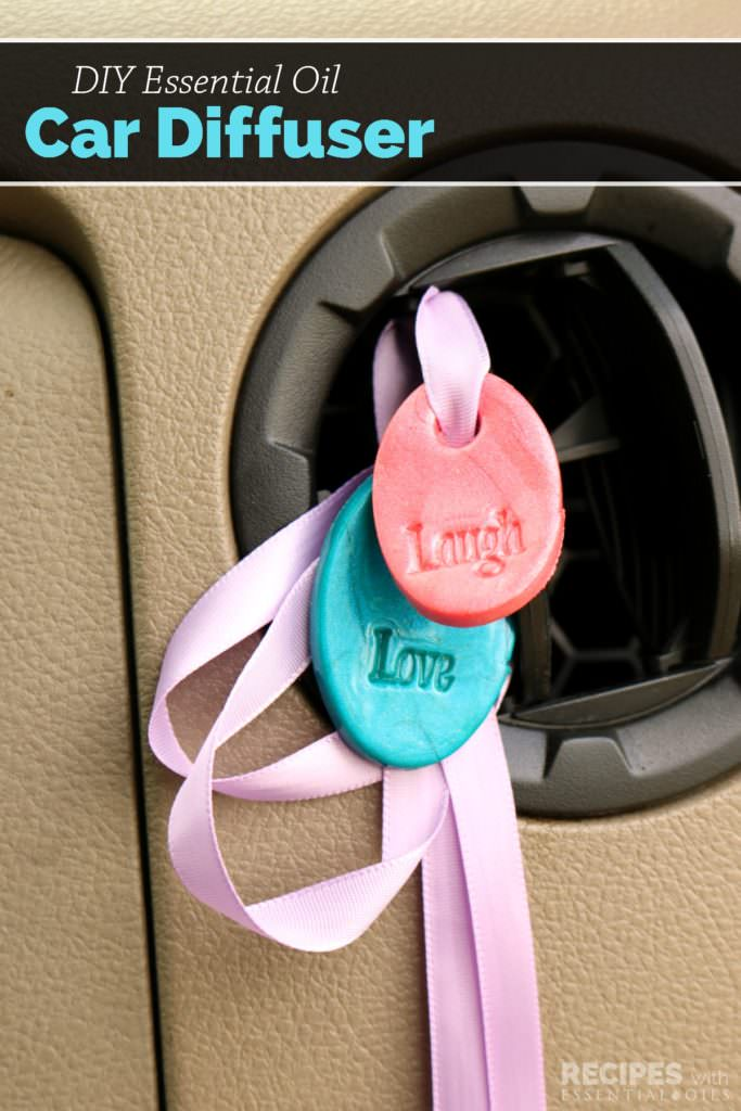 These little DIY Essential Oil Car Diffusers are cheerful and easy to make, and they help freshen your car naturally. Check out!