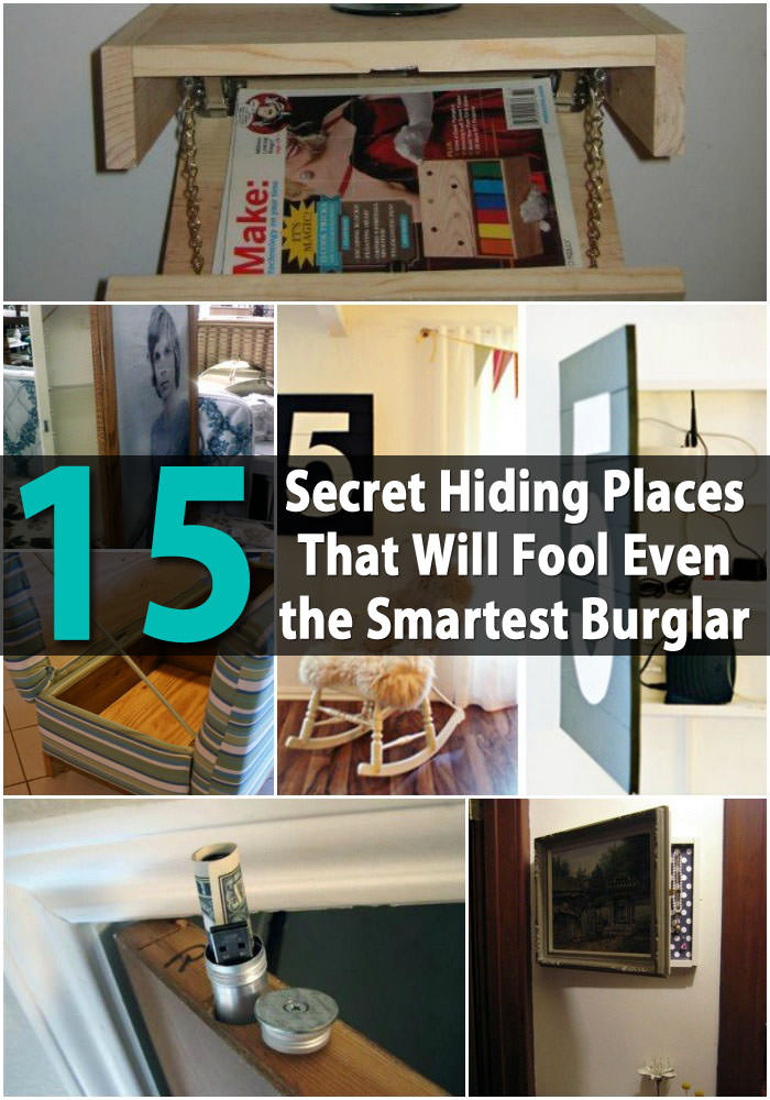 If you need a hiding place to keep your valuable items or cash, look at these 20 secret hiding places ideas for inspiration!