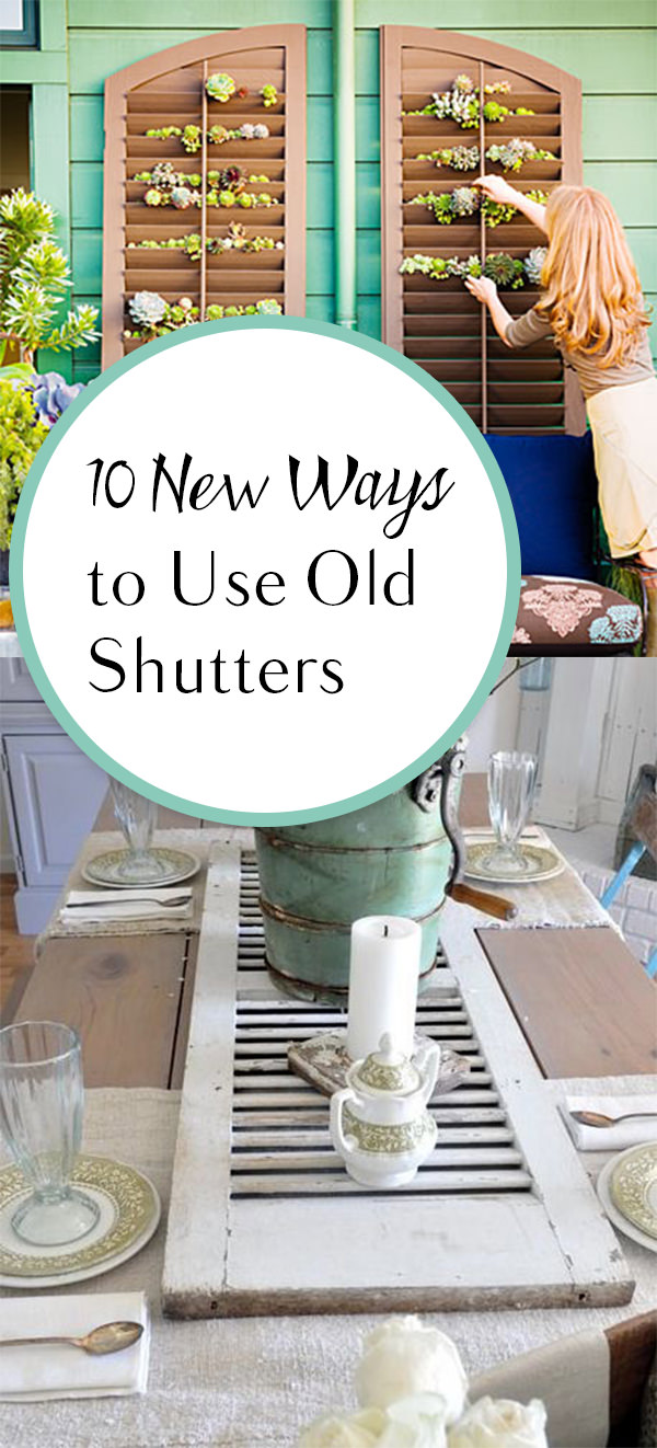 If you have got old shutters, repurpose them in these amazing ways!