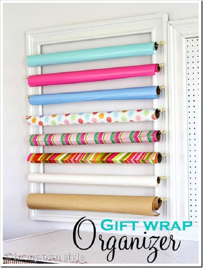 4-framed-gift-wrap-oraganizer-for-kids-craft-ideas