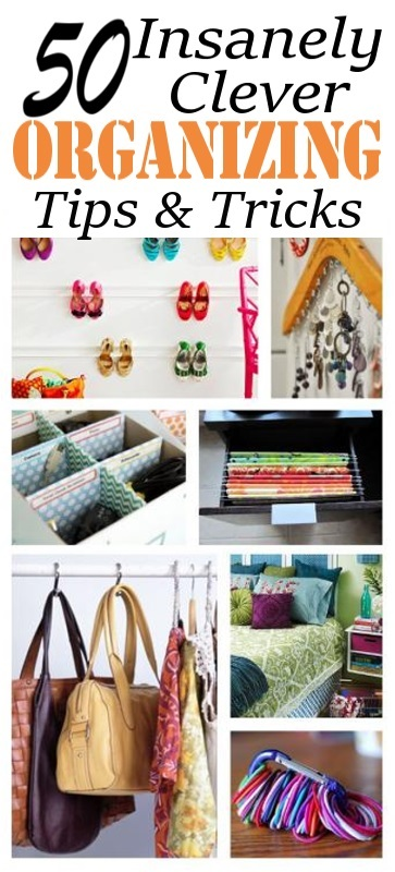 Some smart organizing ideas and tips useful for both home and office. Must take a look!