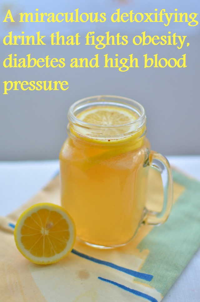 This detoxifying drink has been used since ages, it reduces blood pressure, improves digestion, fights obesity and good in diabetes. See more!