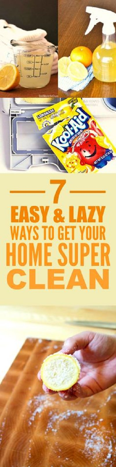 Dirty floor, cluttered bedroom, unorganized kitchen-- Sounds too much? Well, you can do cleaning quickly and better if you apply these hacks!