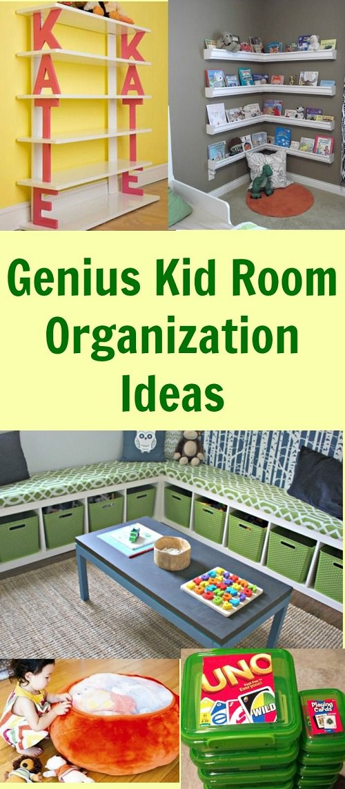 When it comes to the kid's room, you need to be creative. You can't keep their room simple and boring. If you agree look at these genius kid room ideas for help.