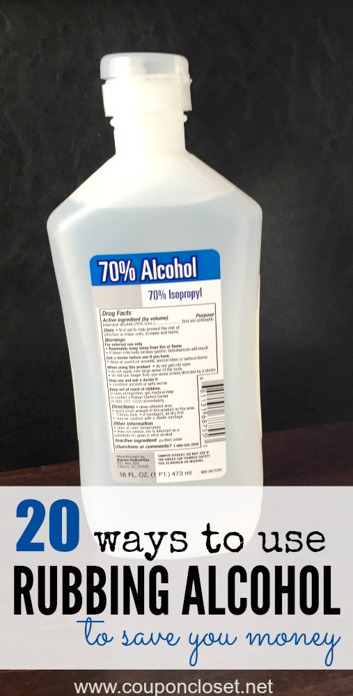 You will be surprised after learning the rubbing alcohol uses here! Using rubbing alcohol with these practical ways can your money and time.