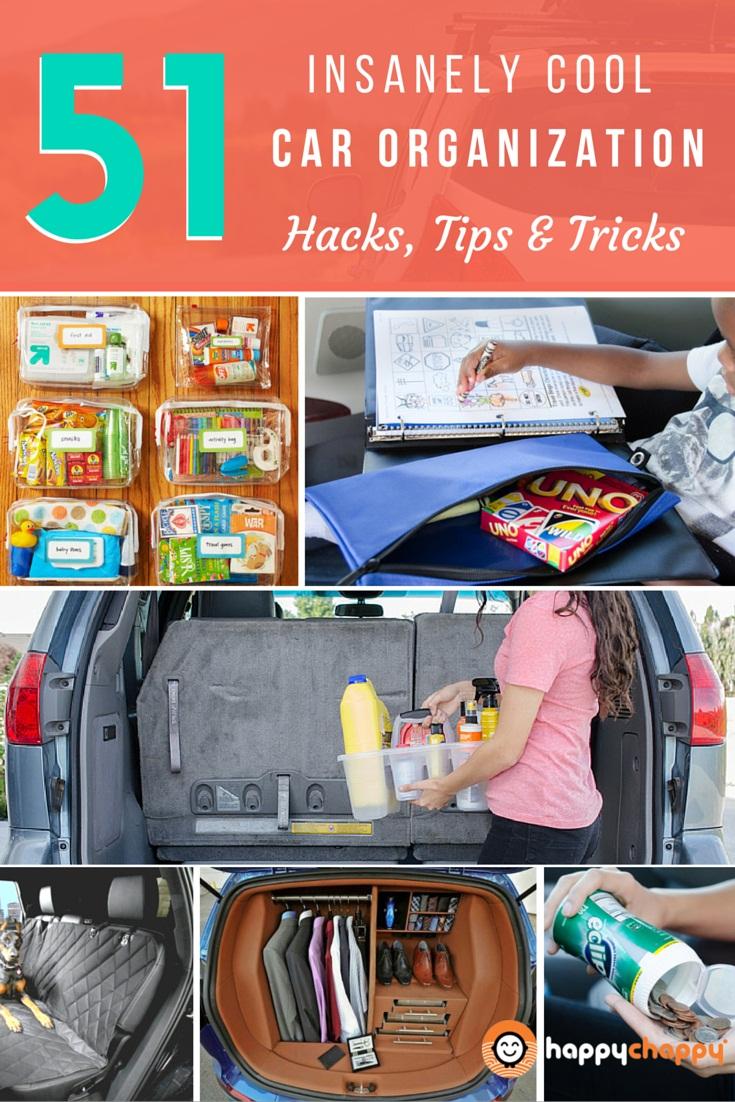 51 insanely cool car organization hacks, tips & tricks • veryhom