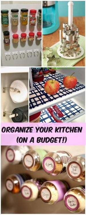 kitchen organization ideas budget organize your kitchen on a budget veryhom 5436