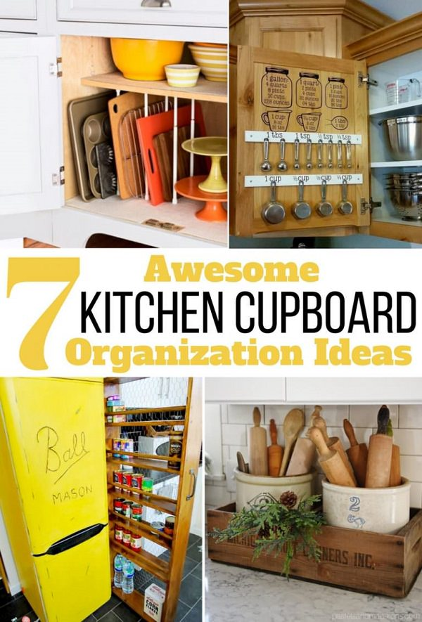 kitchen cupboard organization ideas 7 awesome kitchen cupboard organization ideas you must try 4344